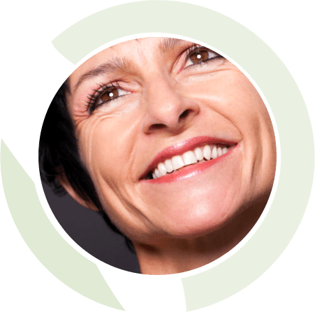 woman circle general dentistry